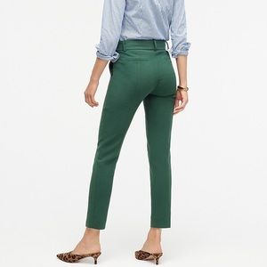 J.Crew City Fit Slim Crop Pant Four-season Stretch